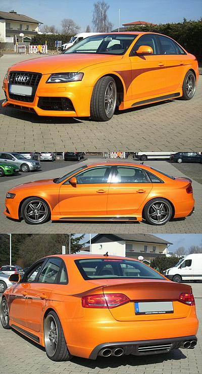 Designlack Auto Audi 3