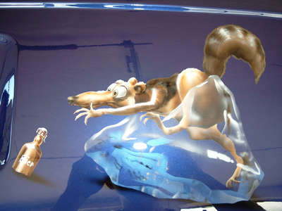 Airbrush Auto Ice Age